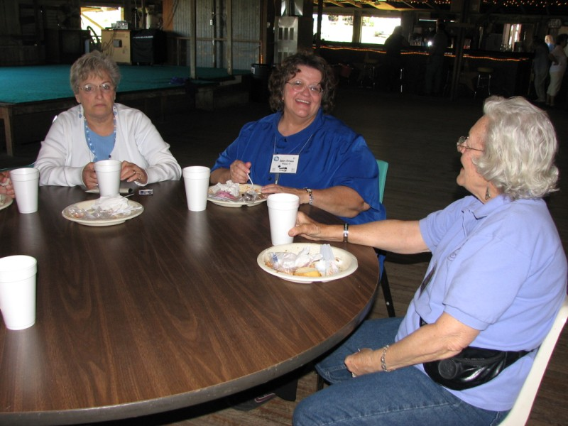 Barbara Marchant, Debbie Strauss, and Sylvan Sigler